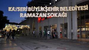 Büyükşehirin Ramazan Sokağı açılıyor