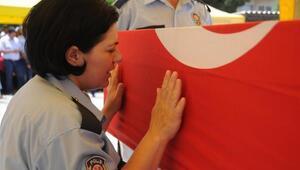 Şehit trafik polisi son yolculuğuna uğurlandı