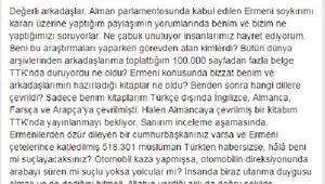 MHP'li Halaçoğlu, Ermeni açıklamasını eleştirenlere tepki gösterdi