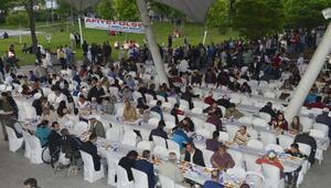 Ankarada iftar çadırlarında ilk gün