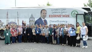 Edirne'den İstanbul'a kültür gezileri başladı