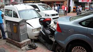 Hafif ticari aracın çarptığı Suriyeli çocuk yaralandı