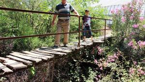 Ortaköye iki beton köprü