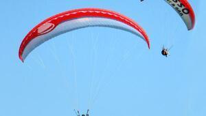 Türkiye Yamaç Paraşütü Hedef Ligi Şampiyonası Alanya etabı sona erdi