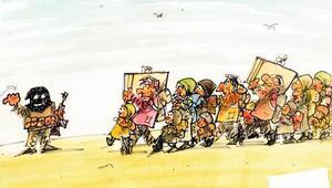 Dünya sorunlarını çizgilere taşıyan Aydın Doğan Uluslararası Karikatür Yarışmasında 33üncü dönem