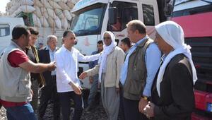 Siverek'te saman pazarı hizmete açıldı