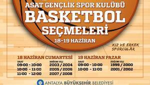 Büyükşehir basketbolda genç yetenekleri arıyor