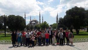 Kıbrıslı minikler İstanbul'u gezdi