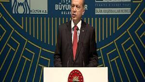 Cumhurbaşkanı Erdoğan: Taksimdeki Gezi Parkına o tarihi eseri inşa edeceğiz