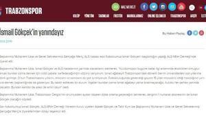 Trabzonspor Başkanı Usta, kulübün eski futbolcusu, ALS hastası Gökçek'i ziyaret etti