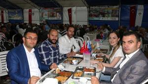 ANGİADın çadır iftarına 4 bin kişi katıldı