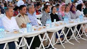 Aksuda geleneksel iftar programı