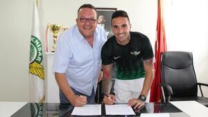 Akhisar Belediyespor Miguel Lopezle imzaladı