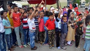 Türkistanlı çocukların  buruk bayramı