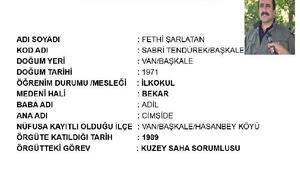 PKKlı terörist Fethi Şarlatan hava operasyonunda vuruldu (2)