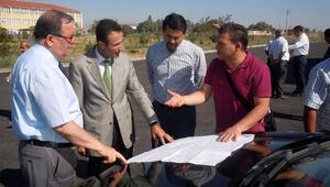 Prof.Dr. Solak, Kırkgöz yerleşkesini inceledi