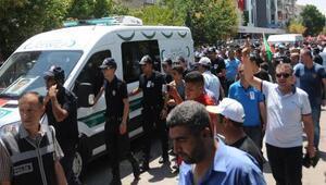Ankara Gölbaşında şehit olan polis, gözyaşlarıyla uğurlandı