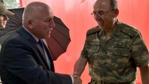 Başkan Sekmen, Korgeneral Öngayı tebrik etti