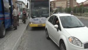 Tutuklanan erler Silivri Cezaevine otobüslerle getirildi