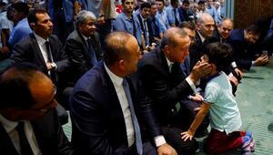 Erdoğan: Dayanışmamız devam edecek, safları sık tutun