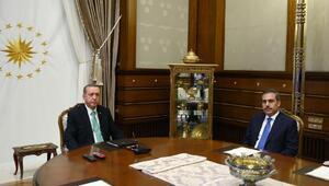 Cumhurbaşkanı Erdoğan Mit Müsteşarı Fidan ile görüşüyor