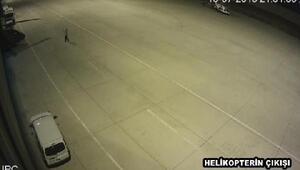Huber Köşkünü koruyacak özel harekat ekibinin helikopterle uçurulmadığı gecenin görüntüleri