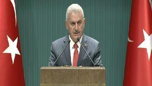 Başbakan Yıldırım: Jandarma Genel ve Sahil Güvenlik komutanlıkları tam anlamıyla İçişleri Bakanlığına bağlanacaktır