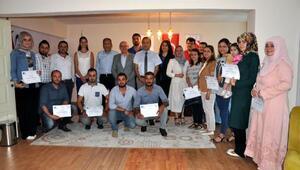 Termede genç girişimciler belgelendirildi