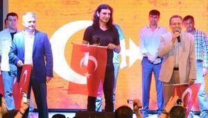Demokrasi nöbetinde Murat Kekilli sürprizi