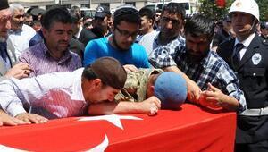 Yozgatta şehit polis son yolculuğuna uğurlandı