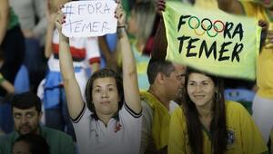 Temer, Rio 2016 kapanış törenine katılmayacak