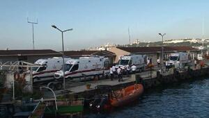 Sahil Güvenlik botu Sarayburnu açıklarında alabora oldu (2)
