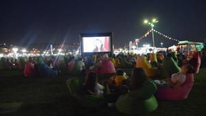 Süleymanpaşa Belediyesi ile açık havada sinema şöleni başladı