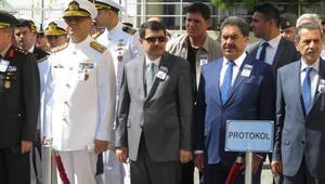 Şehit denizci askerler için GATAda tören yapıldı