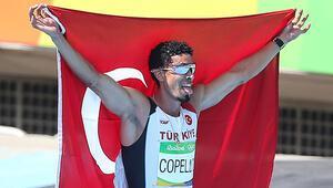 Milli atlet Escobardan bronz madalya