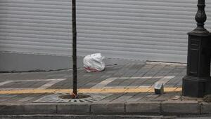 Trabzon'da Milli Piyango bürosu önünde bomba paniği