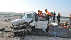 Kütahyada kaza: 3 ölü