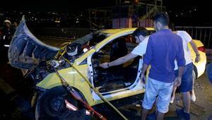 15 Temmuz Şehitler Köprüsünde akılalmaz kaza