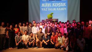 Vali Şahin, bilim kampındaki öğrencileri ziyaret etti