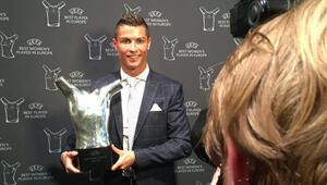 Avrupada yılın futbolcu seçildi