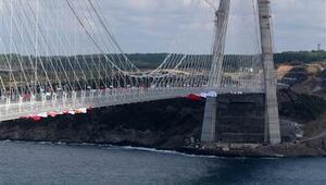 Yavuz Sultan Selim Köprüsü açılışından kareler (FOTO GALERİ)