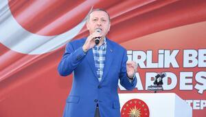 Cumhurbaşkanı Erdoğandan Cerablus mesajı