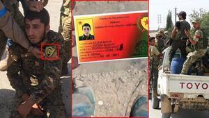 Son dakika haberi: Yakalanan YPGli teröristin üzerinde dikkat çeken kimlik