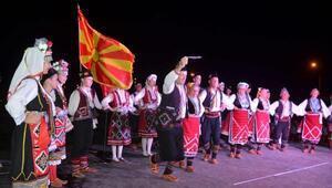 Afyonkarahisar Halk Oyunları Festivalinde renkli gece