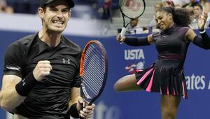 Murray ve Serena Wıllams 2'nci turda