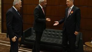 Başkan Yılmaz, Cumhurbaşkanı ve Başbakan ile görüştü