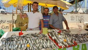 Manisada balık tezgahları doldu