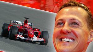 Bu bir mucize Schumacher yürümeye başladı