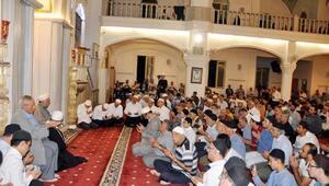 Terör şehitleri Ali Topçuoğlu Camisinde anıldı