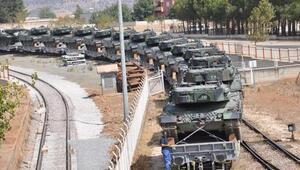 İstanbuldan İslahiyeye tank sevkiyatı sürüyor